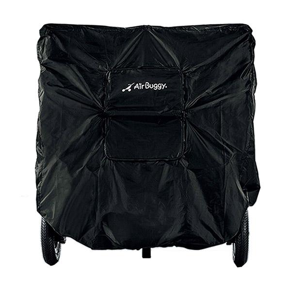 エアバギー AirBuggy ココダブル 専用 ストローラーカバー ブラック
