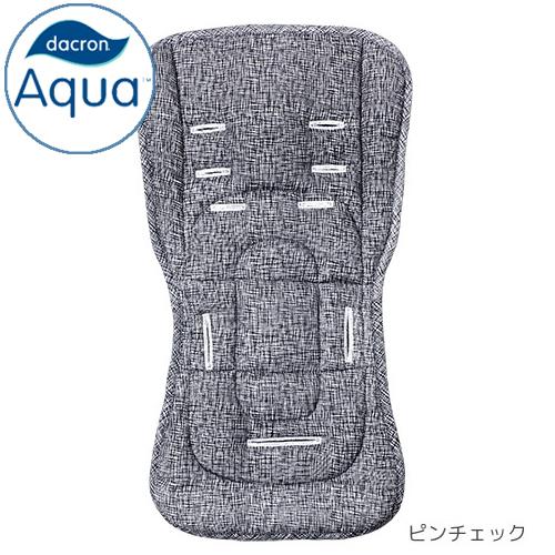 AirBuggy ストローラーマット/ダクロン アクア/ピンチェック