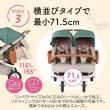 画像7: エアバギー ココ ダブル EX フロムバース アースサンド  双子用ベビーカー AirBuggy COCO DOUBLE EX FROM BIRTH (7)