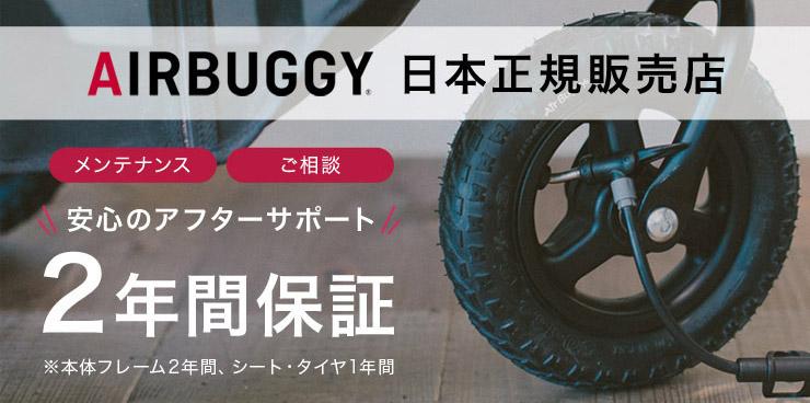 エアバギー取り扱い11年の日本正規販売店