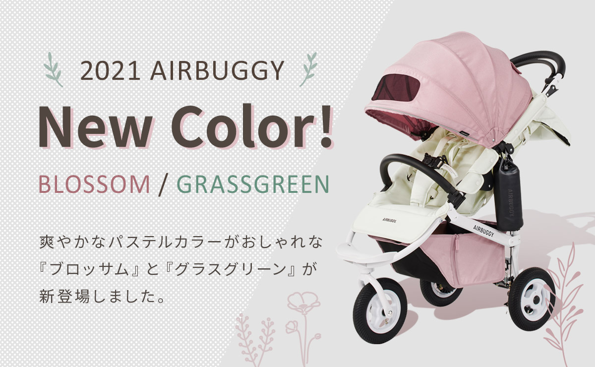 エアバギー フロムバースシリーズ 新色